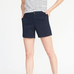 "Old Navy 5"", Mid-rise Chino Shorts"